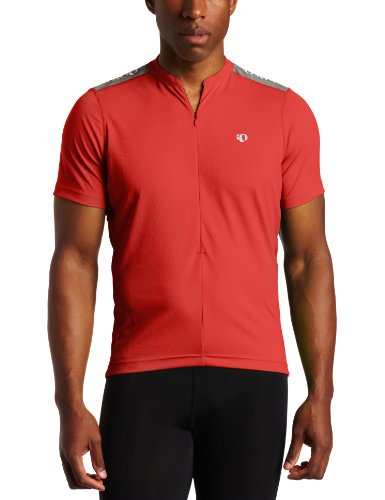 Pearl Izumi Men's Quest Jersey,True Red,Large