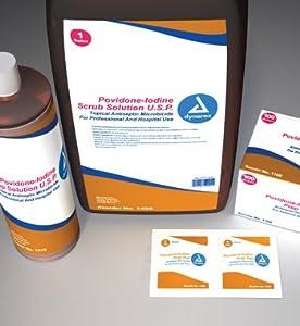 Povidone Iodine Prep Solution, 4 Oz - 48/Cs
