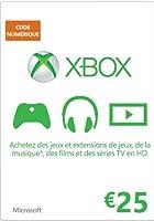 Carte Xbox Live de 25 EUR [Code Digital - Xbox Live]