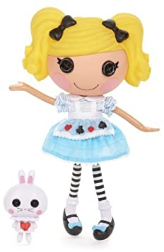 Lalaloopsy Alice in Lalaloopsyland Doll by Lalaloopsy TOY (English Manual)