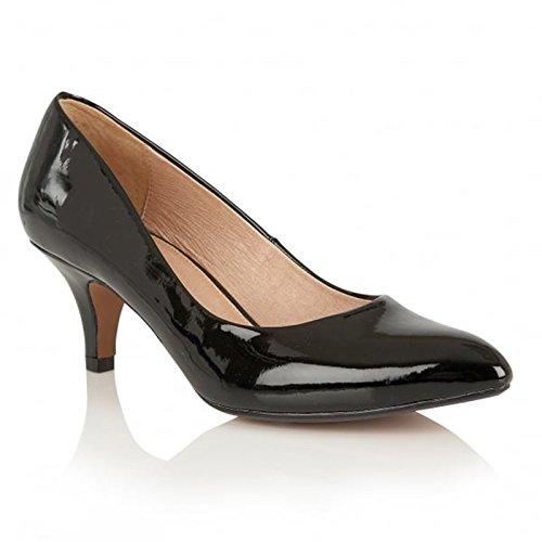Lotus-Scarpe décolleté da donna CLIO, colore: nero, Nero (nero), 39