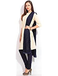 MemSahiba Women Plain Cotton Chudidaar Dupatta Combo (MS-1369_Baby Pink)