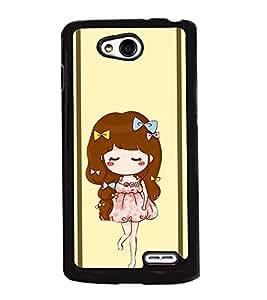 Fuson 2D Printed Girly Designer back case cover for LG L90 - D4451
