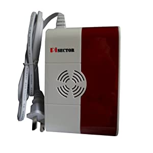 PiSector Wireless Carbon Monoxide and Explosive Gases Leak Alarm, 433MHz