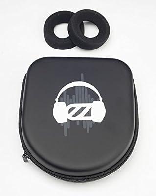 EarZonk Deluxe Leatherette Travel Case for Grado Headphones
