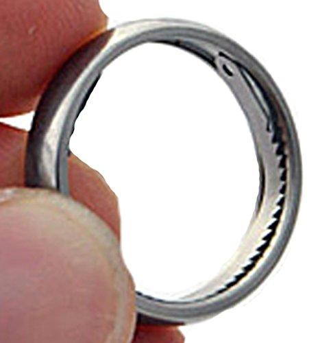 Shomer-Tec SHTER Titanium Escape Ring-Size 9