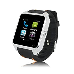 ZGPAX S82 Smartwatch with Android 4.4 3G GPS Bluetooth WiFi MTK6572 Dual Core Smartphone Watch Phone 1.54\