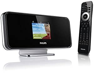 Philips NP2500/37 WiFi Internet Radio Network Music Player with Rhapsody (Black)