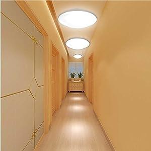 AUROLITE LED 24W IP44 Ceiling Lights, 4000K, 1700LM, Lighting for Bathroom, Kitchen, Hallway, Office, Corridor, Flush Ceiling Light, Bath Ceiling Lights from AUROLITE