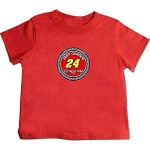Buy Checkered Flag Jeff Gordon Toddler Littlest Fan T-Shirt - Red by Checkered Flag