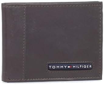 Tommy Hilfiger  Men's Cambridge Slim Billfold,Brown,One Size