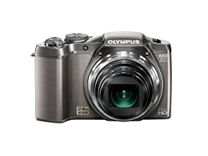 Olympus SZ-31MR 16MP CMOS Camera with 24x Wide-Angle Zoom and 3-inch 920k Hi-Res LCD Touch Panel (Silver) (Old Model)