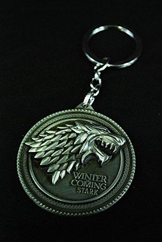 Game of Thrones - Portachiavi Casata Stark DELUXE (Il Trono di Spade)