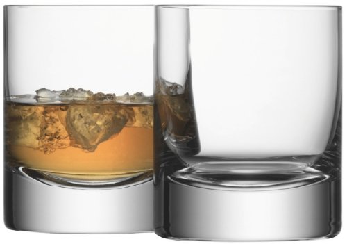 LSA SET 4 BAR TUMBLERS 250ml CLEAR