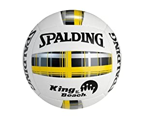 Buy Spalding King of the Beach Plaid Series Volleyball by Spalding