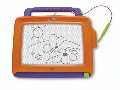 Doodle Pro Classic Is The Magnetic Drawing Toy That Best Delivers On Durability And Drawing Area. - Fisher-Price Doodle Pro Classic Orange