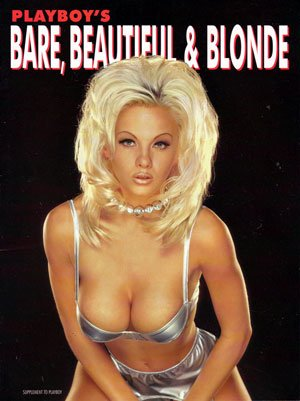 Playboy'S Bare, Beautiful & Blonde 1996 Supplement To Playboy Magazine