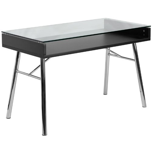 Flash Furniture Brettford Computer Desk  Tempered