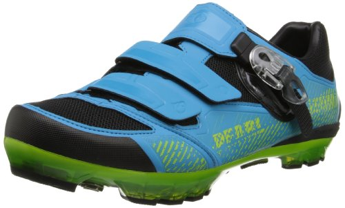 Pearl Izumi - Ride Men'S X-Project 3.0 Cycling Shoe,Electric Blue/Lime,44 Eu/10 D Us