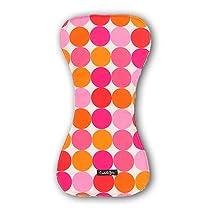 Cuddle Bee Burp Cloth Pink Dot