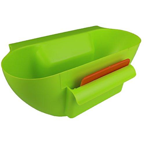 【HIROMARUjp】 料理 キッチン スッキリ シンク 用 ゴミ 入れ ダスト ストッカー グリーン
