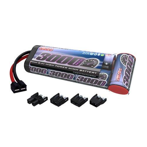 Venom Group International 1525-7 7-c 8.4V 3000mAh NiMH Flat Battery Pack with Universal Plug