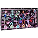 Monster High Dance Class 5 Pack - Rochelle Goyle, Gil Webber, Robecca Steam, Lagoona Blue, and Operetta