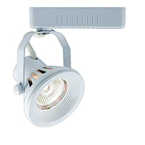 Jesco Lighting HLV13050BK Mini Deco 130 Series Low Voltage Track Light Fixture, 50 Watt, Black Finish at Sears.com