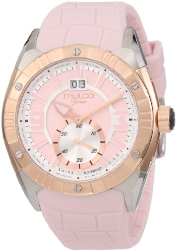 Mulco Unisex MW1-18265-088 Fondo Croco Swiss Movement Watch