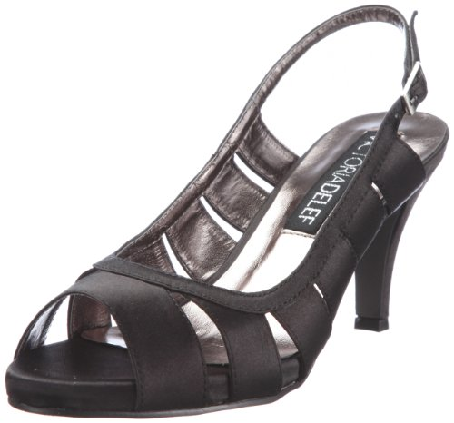Victoria Delef Women's 12V0881 Negro Open Toe 12V0881 3 UK