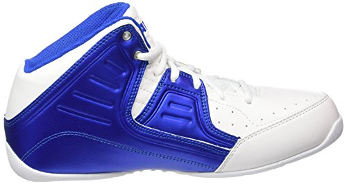 AND1 Men's Rocket 4 Bright White/Royal/Bright White Sneaker 11 D (M)