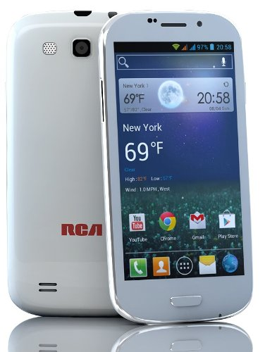 "Rca A1 4.7"" 3G Unlocked Dual Sim, Android 4.1 Us Warranty"