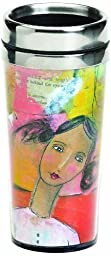 Demdaco Kelly Rae Roberts She Knew Travel Mug by DEMDACO - Home