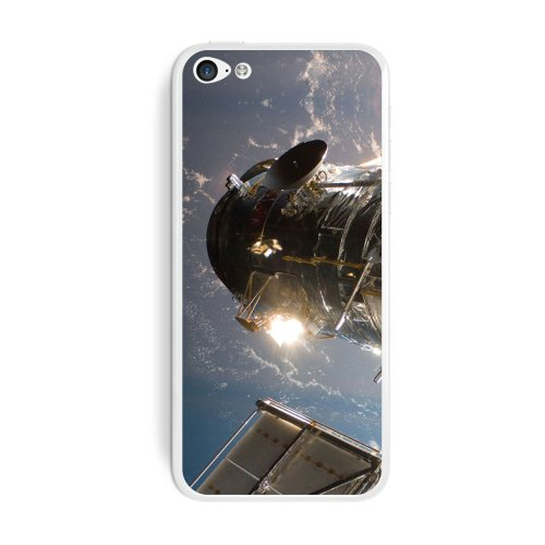 Graphics And More Hubble Telescope - Astronomy Space Protective Skin Sticker Case For Apple Iphone 5C - Set Of 2 - Non-Retail Packaging - Opaque