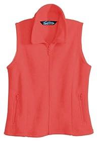 Tri-Mountain Women's Medium Weight Tailored Fit Fashion Fleece Vest
