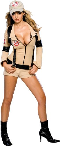 Secret Wishes Women's Sexy Ghostbuster Costume, XS, S, M, L