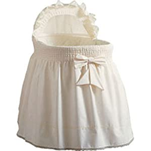 Baby Doll Chins Bassinet Set, Ecru