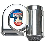 Wolo (719) Big Bad Max Chrome Air Horn - 12 Volt