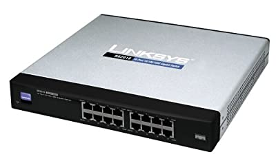 Cisco SR2016 16-port 10/100/1000 Gigabit Switch