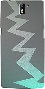 Kasemantra Thunder In Eyes Case For One Plus One