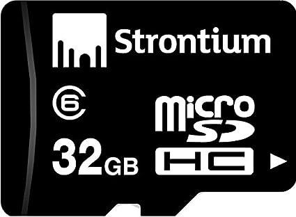 Strontium 32GB MicroSDHC Class 6 Memory Card