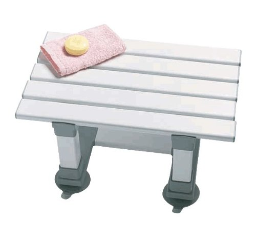 Medina 12 plastic bath seat enabling easy access to the bath