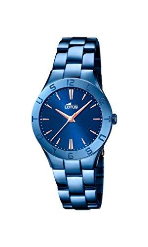 91b74e11197a Lotus - Reloj de pulsera analógico para mujer cuarzo acero inoxidable 18249  2