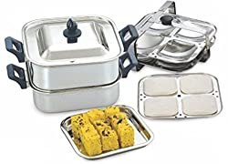 KCL Classica Dhokla & Square Idly Induction & Standard Idli Maker