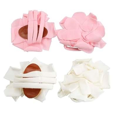 Amazon.com: 2 Pairs Infant Baby Newborn Cotton Barefoot ...