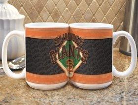 Mlb San Francisco Giants 15Oz. Sublimated Logo Mug
