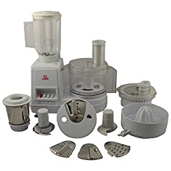 GOPI GA-008 550 Watt Food Processor (White)