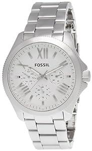 Fossil Damen-Armbanduhr Cecile Multifunktion Analog Quarz Edelstahl AM4509