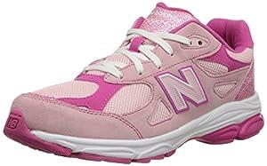 New Balance KJ990G Running Shoe (Big Kid), Pink/Pink, 6.5 W US Big Kid