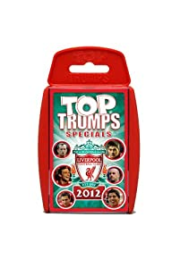 Liverpool Fc 2012 Top Trumps by Winning Moves
